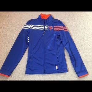 Women's NY Knicks Adidas Jacket